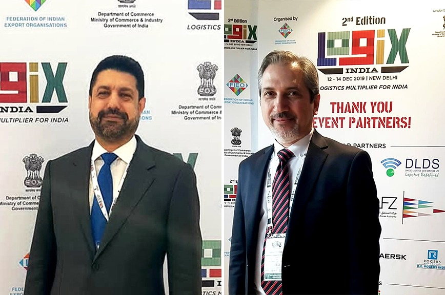Farmad co-founders at Logix India 2019