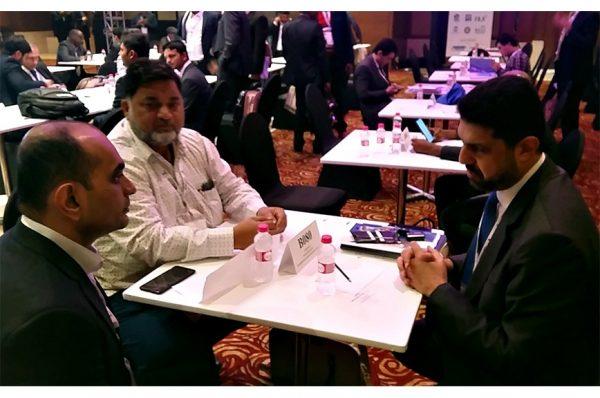 P2P meeting during Logix India Feb.2019