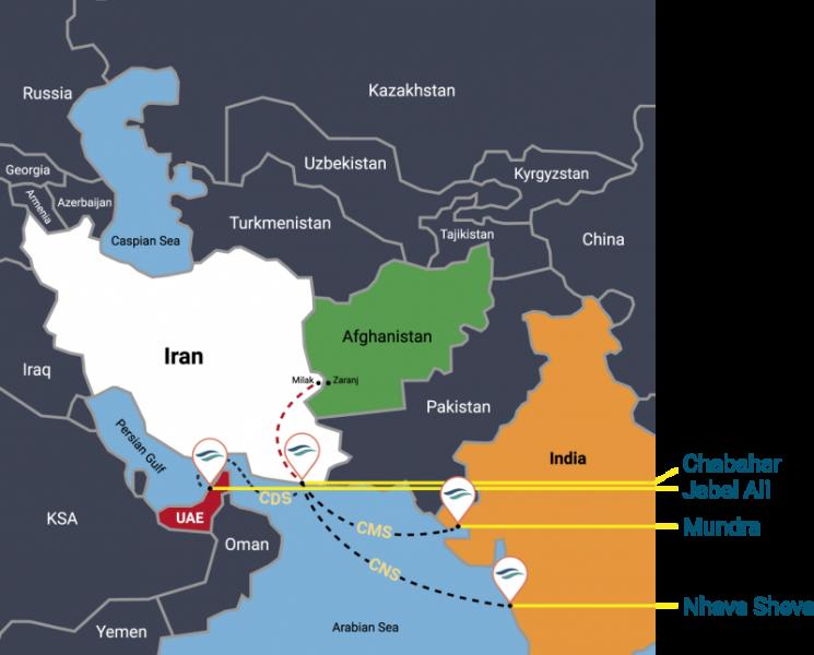 CIDARCS Map